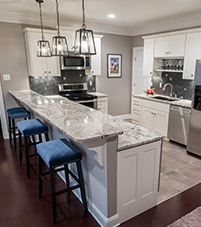 An image of a kitchen designed by Stoeck Interiors.